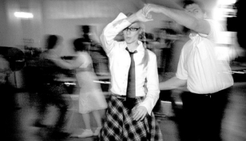 Swing Dancing at the Turn in the Denver Post