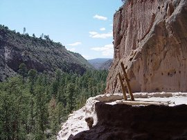 Ceremonial Cave at Bandelier