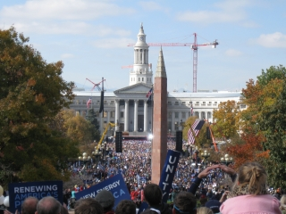 100,000 Strong for Obama in Denver