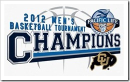 2012 Pac-12 Men's Basketball Champions!