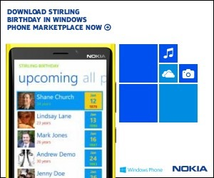Download Stirling Birthday in Windows Phone Marketplace Now
