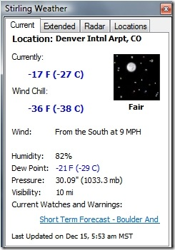 Denver Cold 20081215