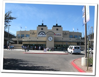 Hi Corbett Field in Tucson, AZ - Spring Home of the Colorado Rockies