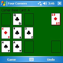 Four Corners Square Screen