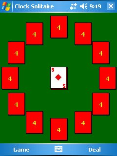 Clock Solitaire 2.0