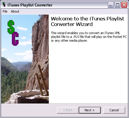 iTunes Playlist Converter